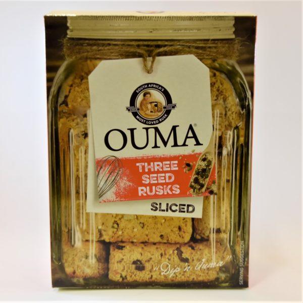 ouma rusks, rusk, three seed rusks