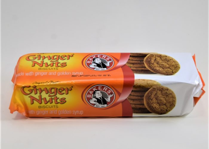 ginger nuts, baker's, bakers