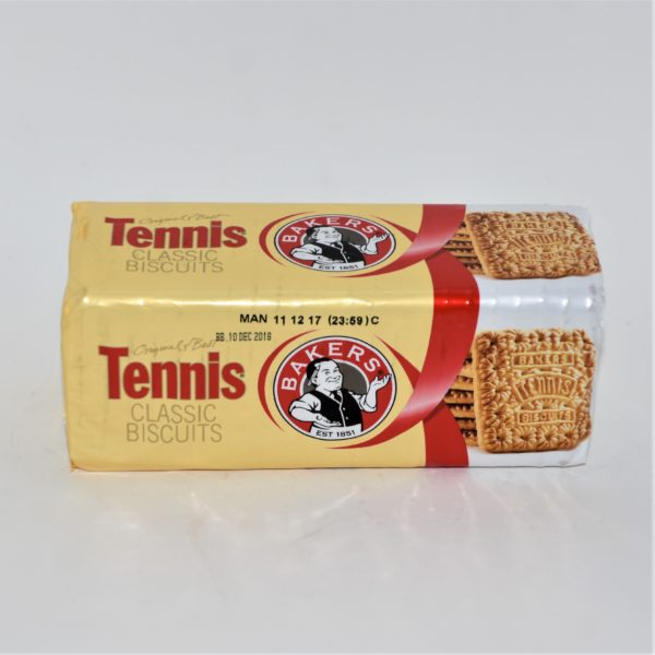 Bakers tennis, tennis biscuits