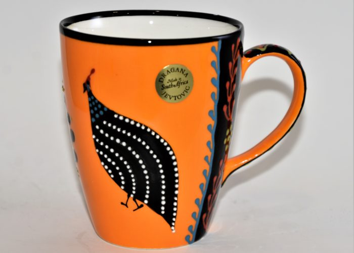 Ntaba African Coffee Mugs - Yellow