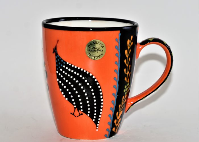 Ntaba African Coffee Mugs - Orange