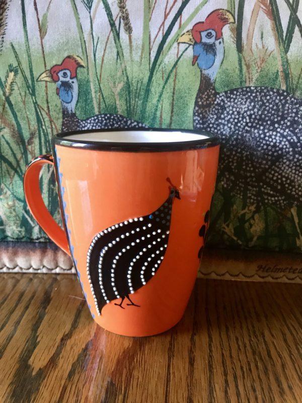 Ntaba African Coffee Mugs - Orange